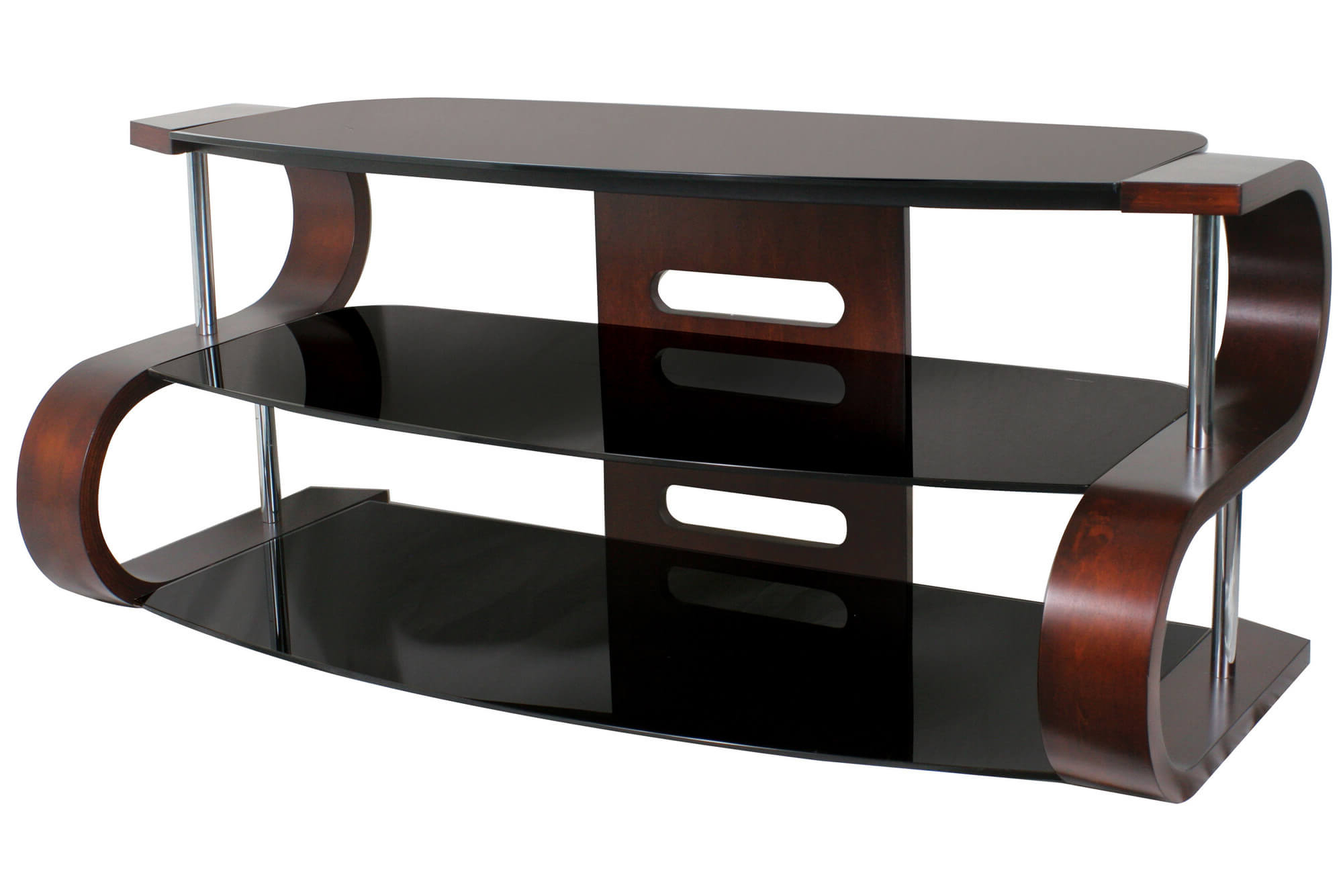 16 Types Of Tv Stands (Comprehensive Buying Guide) Pertaining To Most Up To Date Gunmetal Media Console Tables (View 19 of 20)