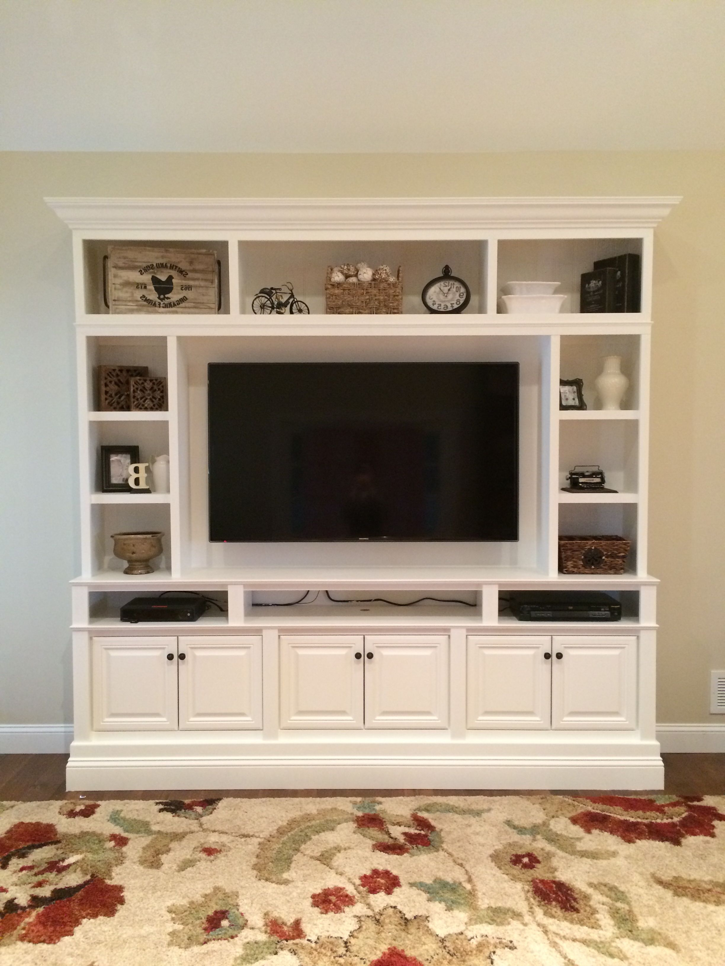 17 Diy Entertainment Center Ideas And Designs For Your New Home Throughout Popular Tv Entertainment Wall Units (Gallery 19 of 20)