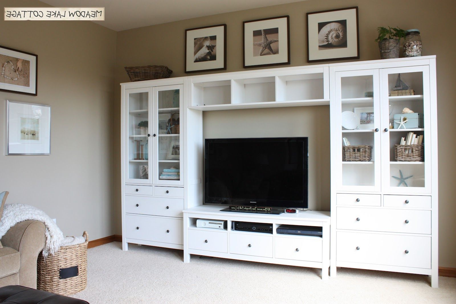 2017 20+ Best Diy Entertainment Center Design Ideas For Living Room In Within Ikea Built In Tv Cabinets (Gallery 11 of 20)
