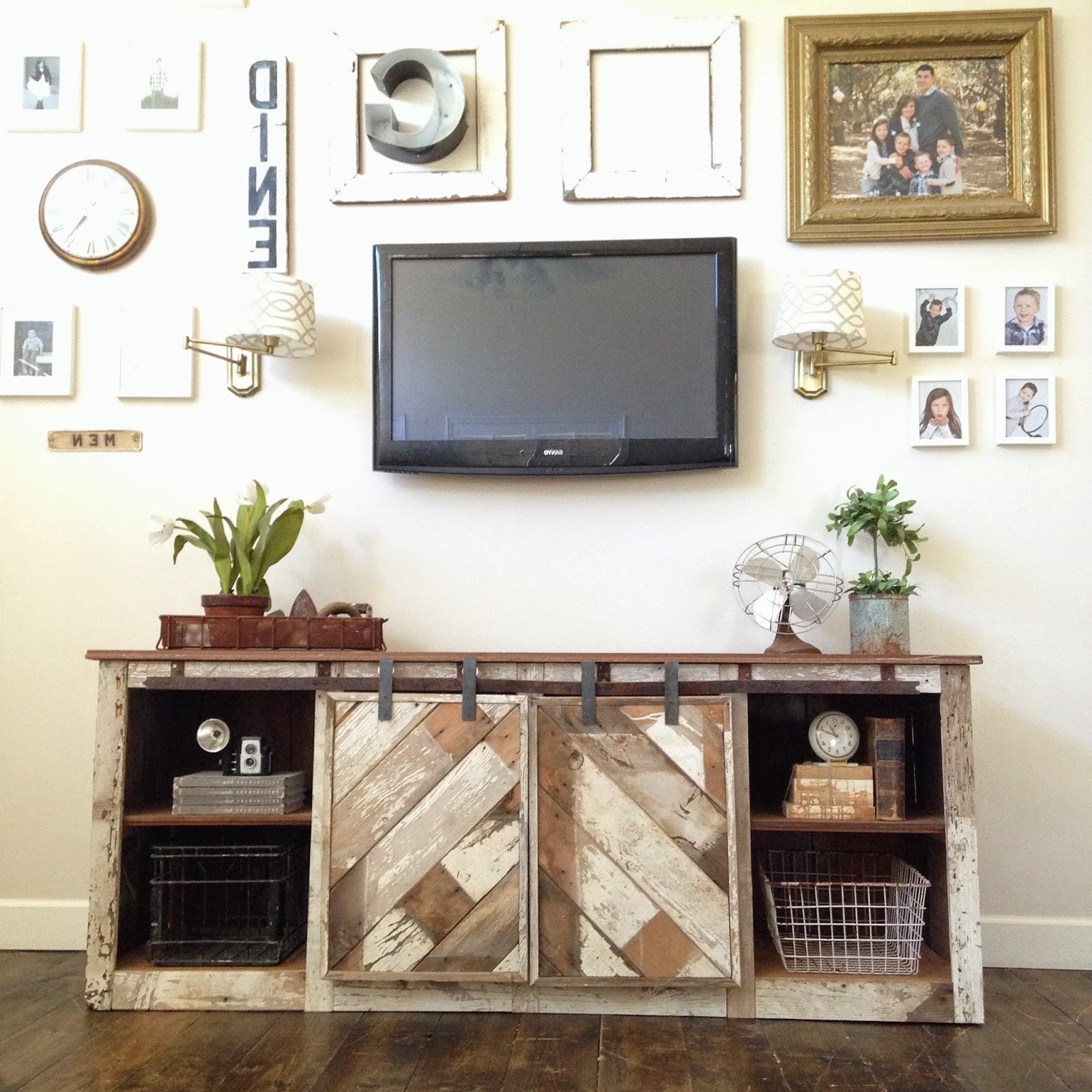 2017 Corner Fireplace Tv Stand For 55 Inch Diy Farmhouse Barn Door Style With Regard To Century White 60 Inch Tv Stands (View 17 of 20)