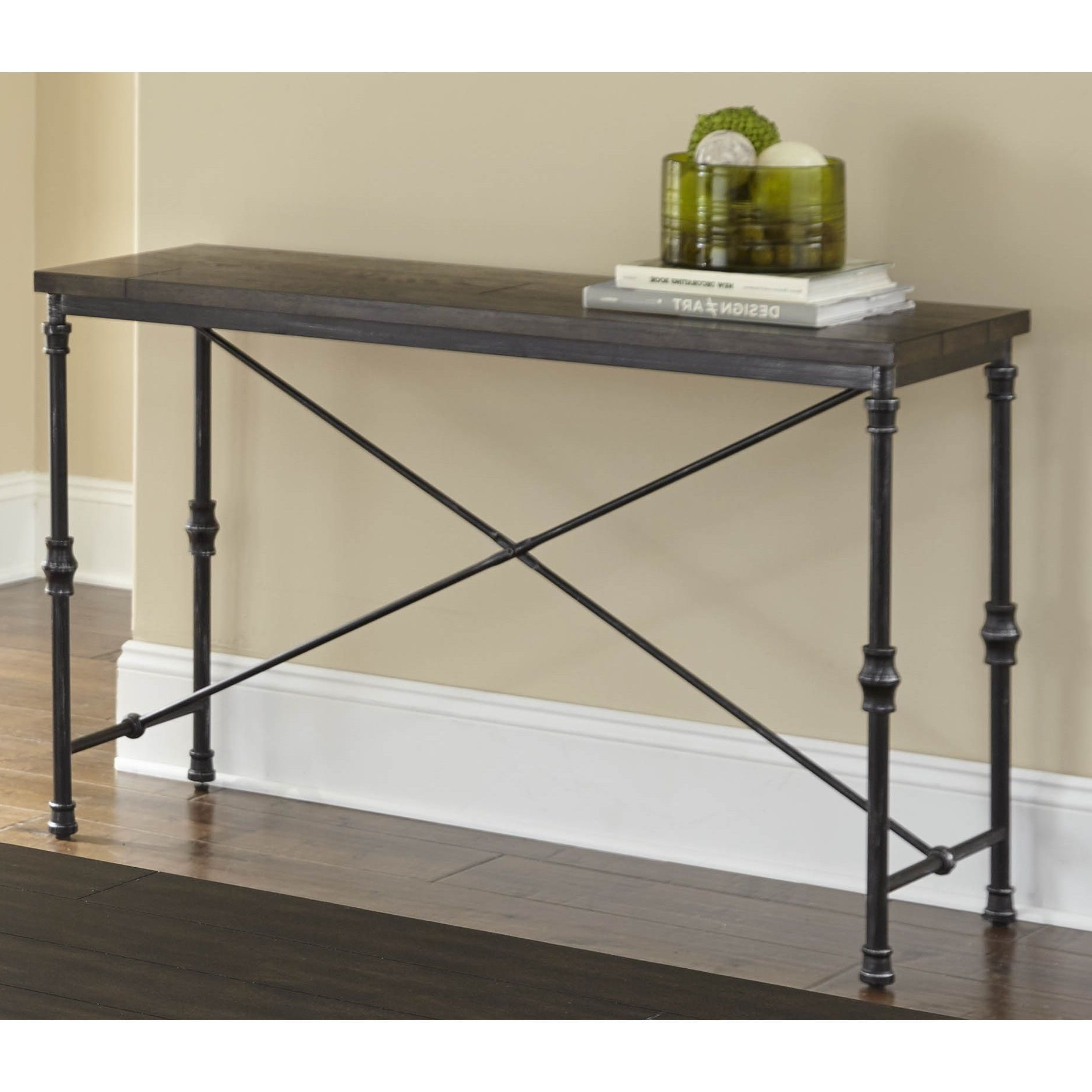2017 Greyson Living Loring Sofa Table, Grey (View 6 of 20)