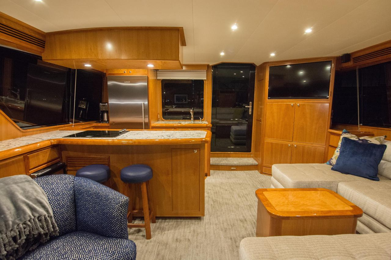 2017 Mikelson Media Console Tables Within 2018 New Mikelson Luxury Sportfisher Sports Fishing Boat For Sale (View 13 of 20)