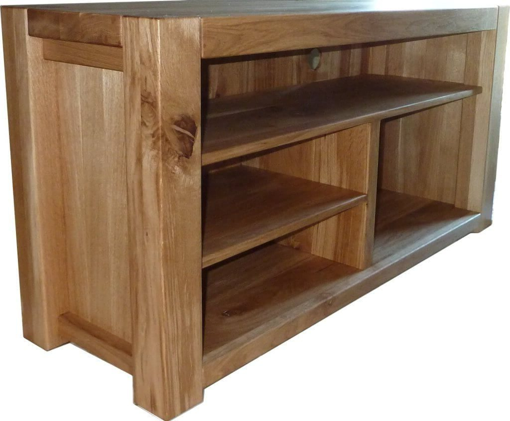 2017 Rustic Tv Stands For Sale For Furniture: Wooden Cheap Rustic Tv Stand Featuring Various Sized Open (View 1 of 20)