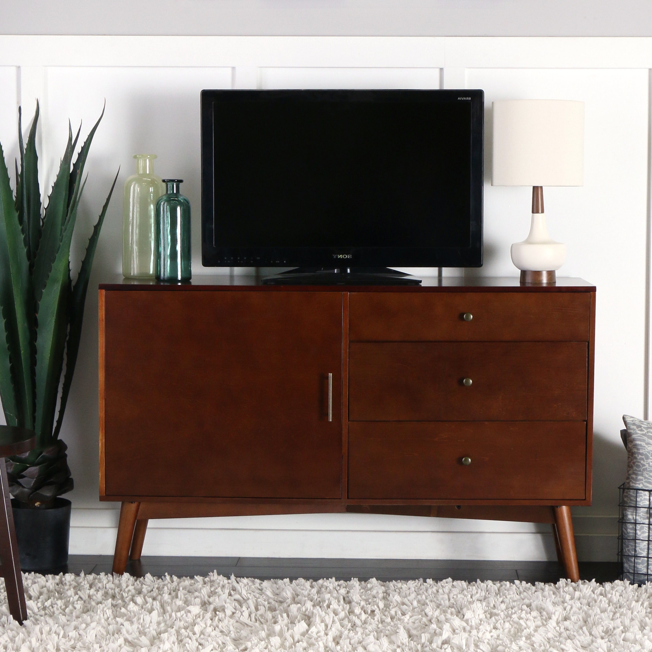 2017 Tall Tv Stands You'll Love (View 1 of 20)