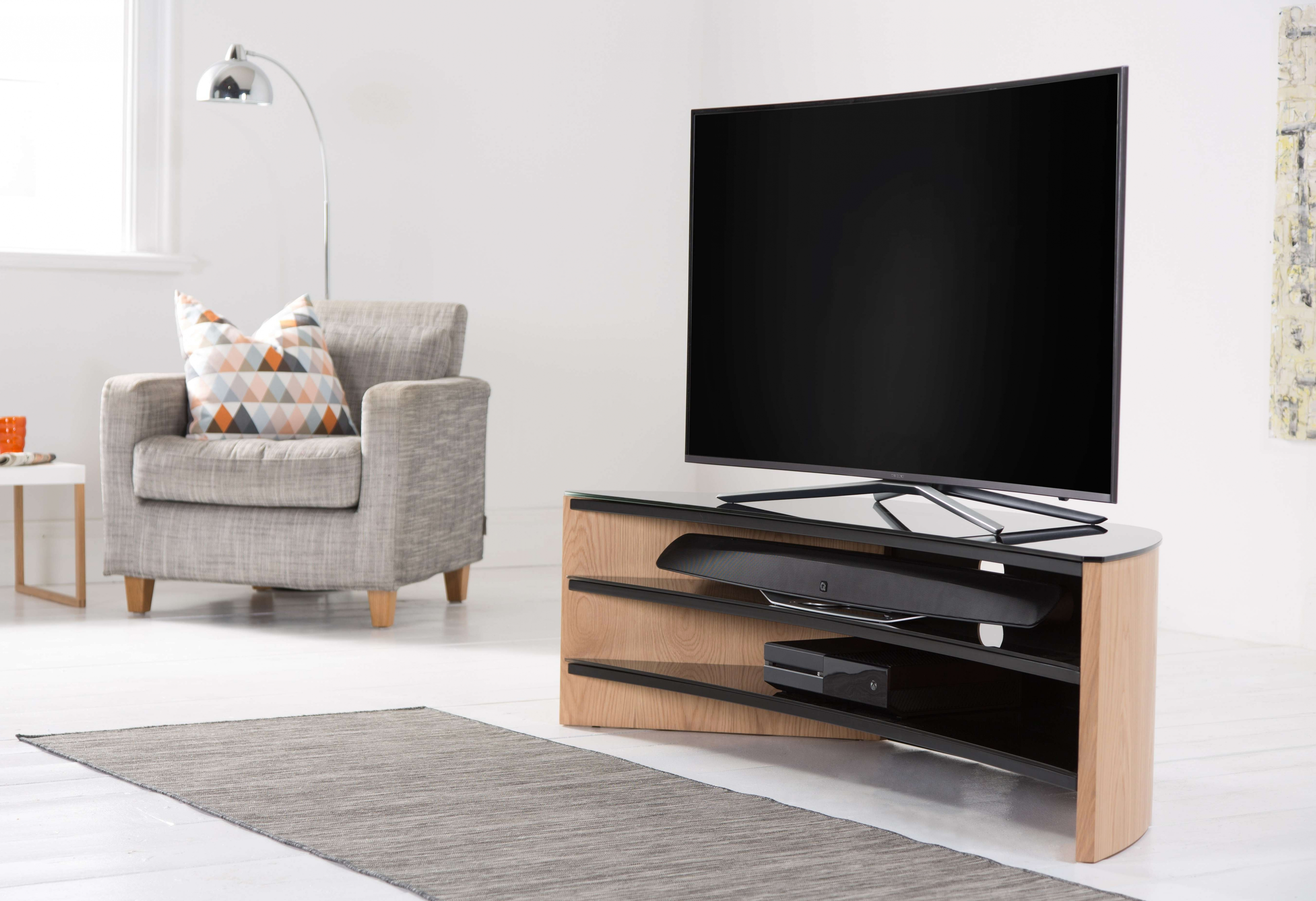 2017 Tv Stands Rounded Corners Intended For Tv Stand Rounded Corners – Round Designs (Gallery 20 of 20)