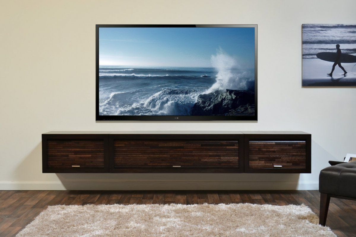 2017 Wall Mounted Tv Stands For Flat Screens Regarding Modern Entertainment Center Style With Ikea Wall Mounted Media (View 14 of 20)