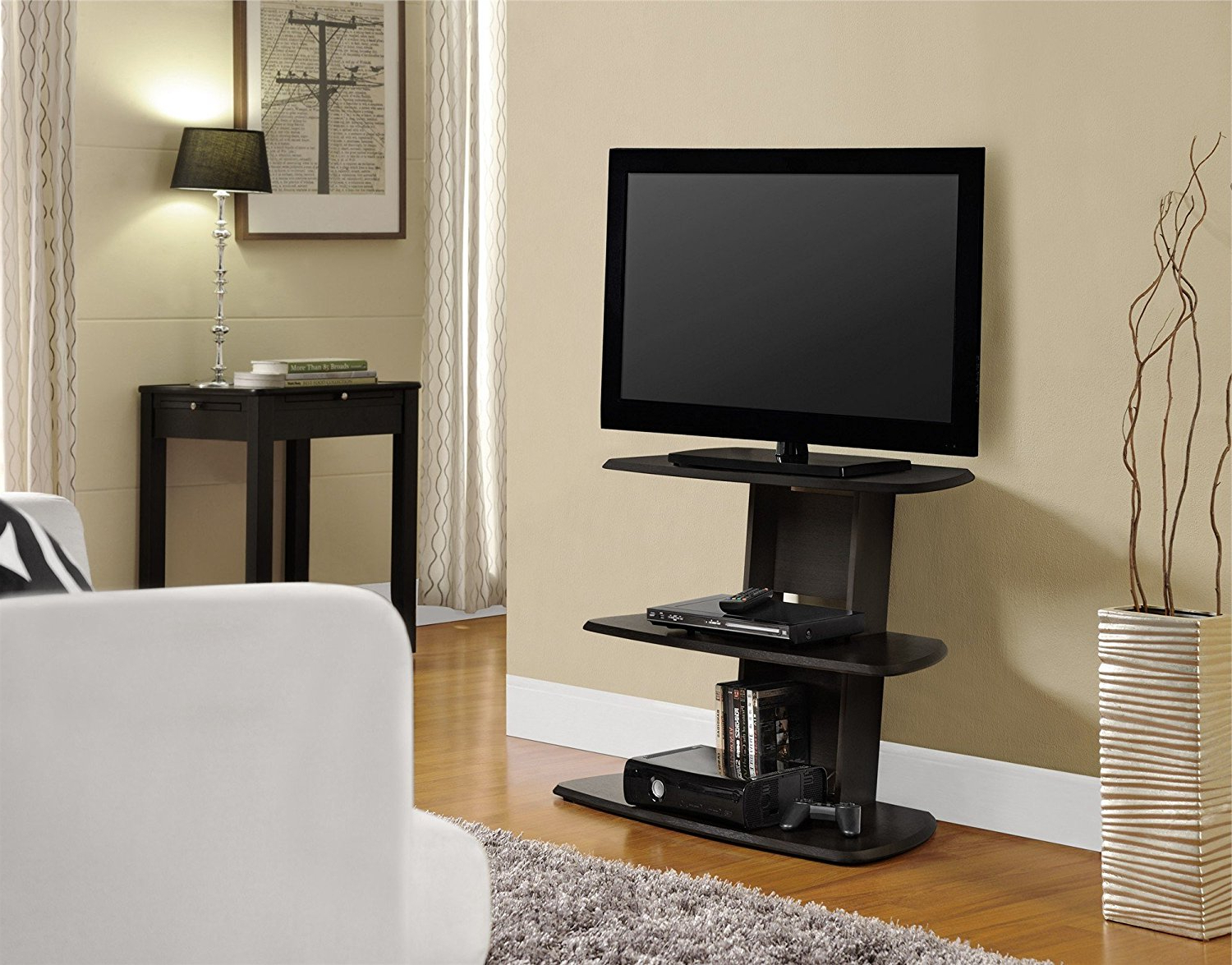 2018 24 Inch Corner Tv Stands Intended For How To Find A 32 Inch Tv Stand For Your Budget – Furnish Ideas (View 1 of 20)