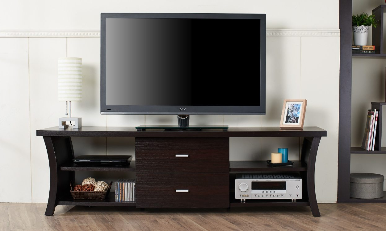 2018 6 Tips For Choosing The Best Tv Stand For Your Flat Screen Tv Intended For Rectangular Tv Stands (View 2 of 20)