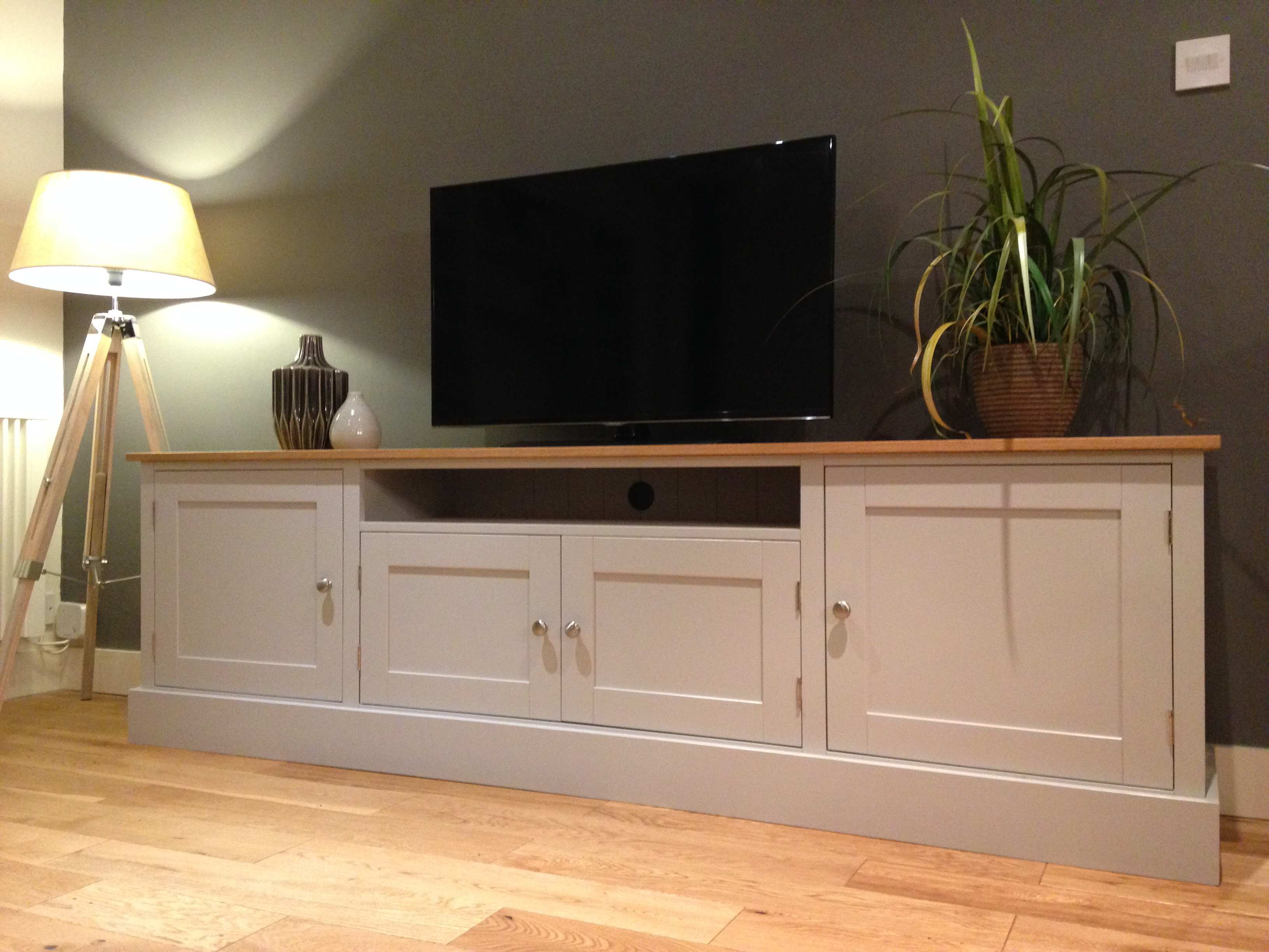 2018 7Ft Solid Pine & Oak Tv Unit – Nest At Number 20 For Wide Oak Tv Units (View 2 of 20)