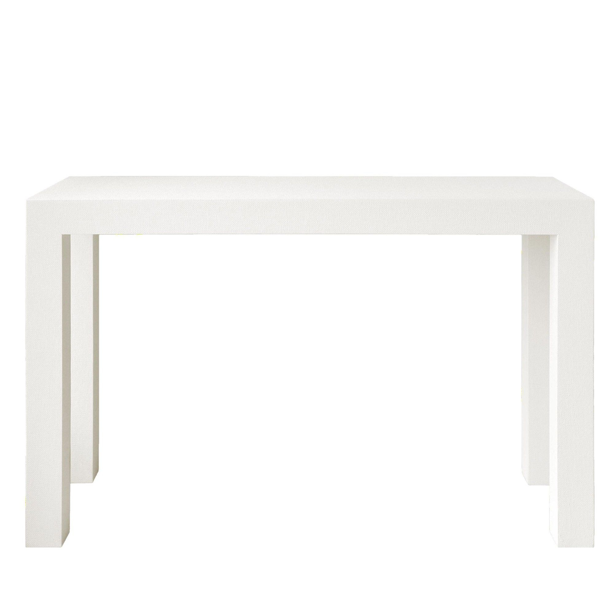 2018 Bungalow 5 Parsons Console In White (Gallery 9 of 20)