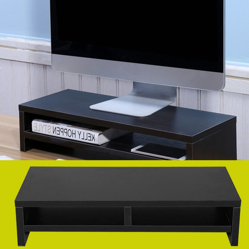 2018 Caden 63 Inch Tv Stands For Universal Desktop Monitor Stand Lcd Tv Laptop Rack Computer Screen (Gallery 13 of 20)