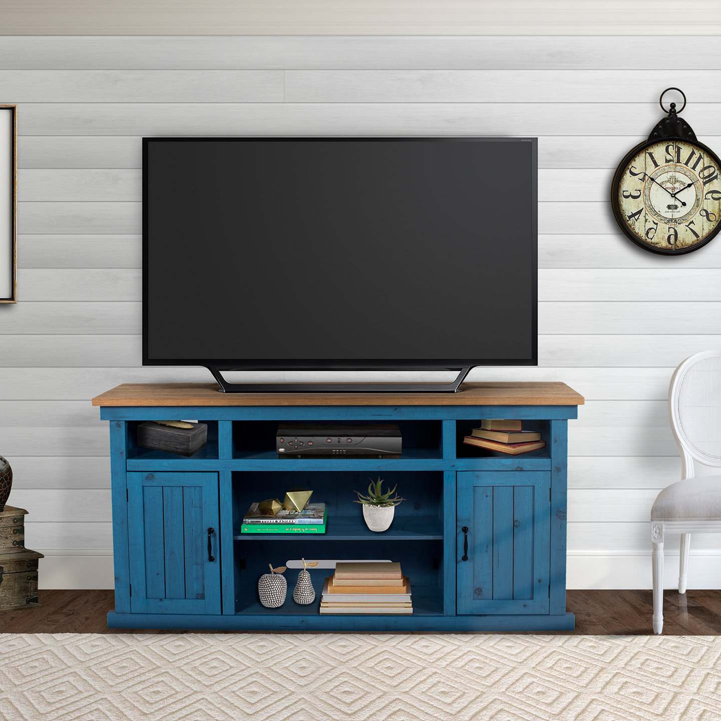 2018 Century Sky 60 Inch Tv Stands In Blue Tv Stands You'll Love (View 3 of 20)