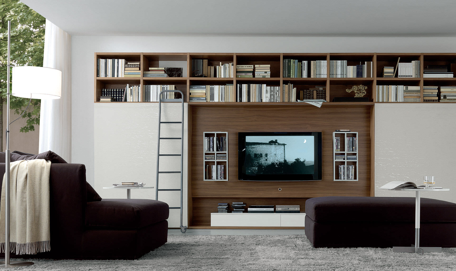 2018 Contemporary Tv Wall Units With Contemporary Tv Wall Unit – Open System – Jesse (View 6 of 20)