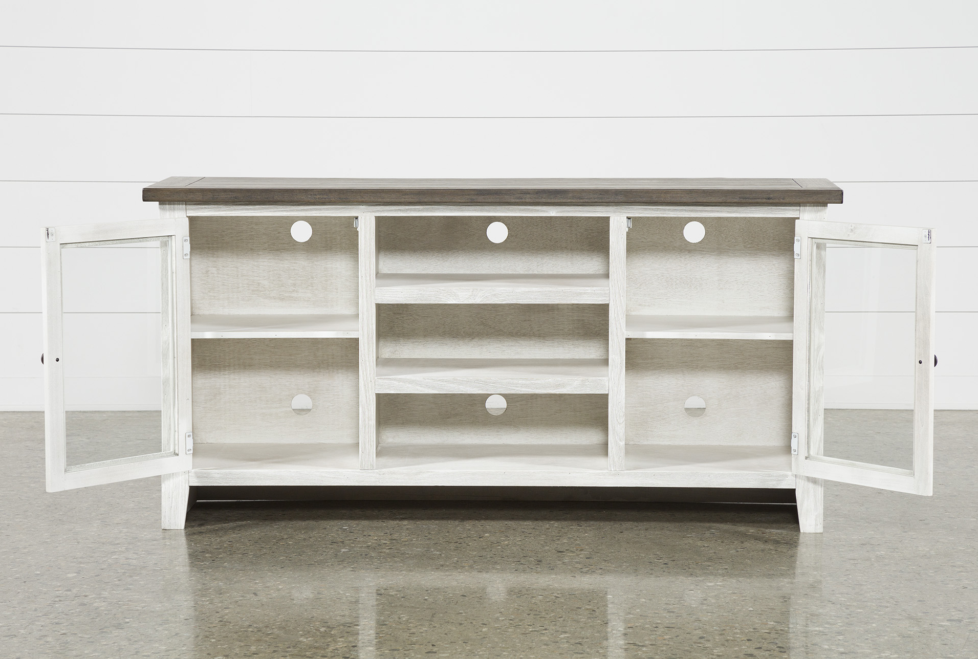 2018 Dixon White 65 Inch Tv Stand (Gallery 1 of 20)