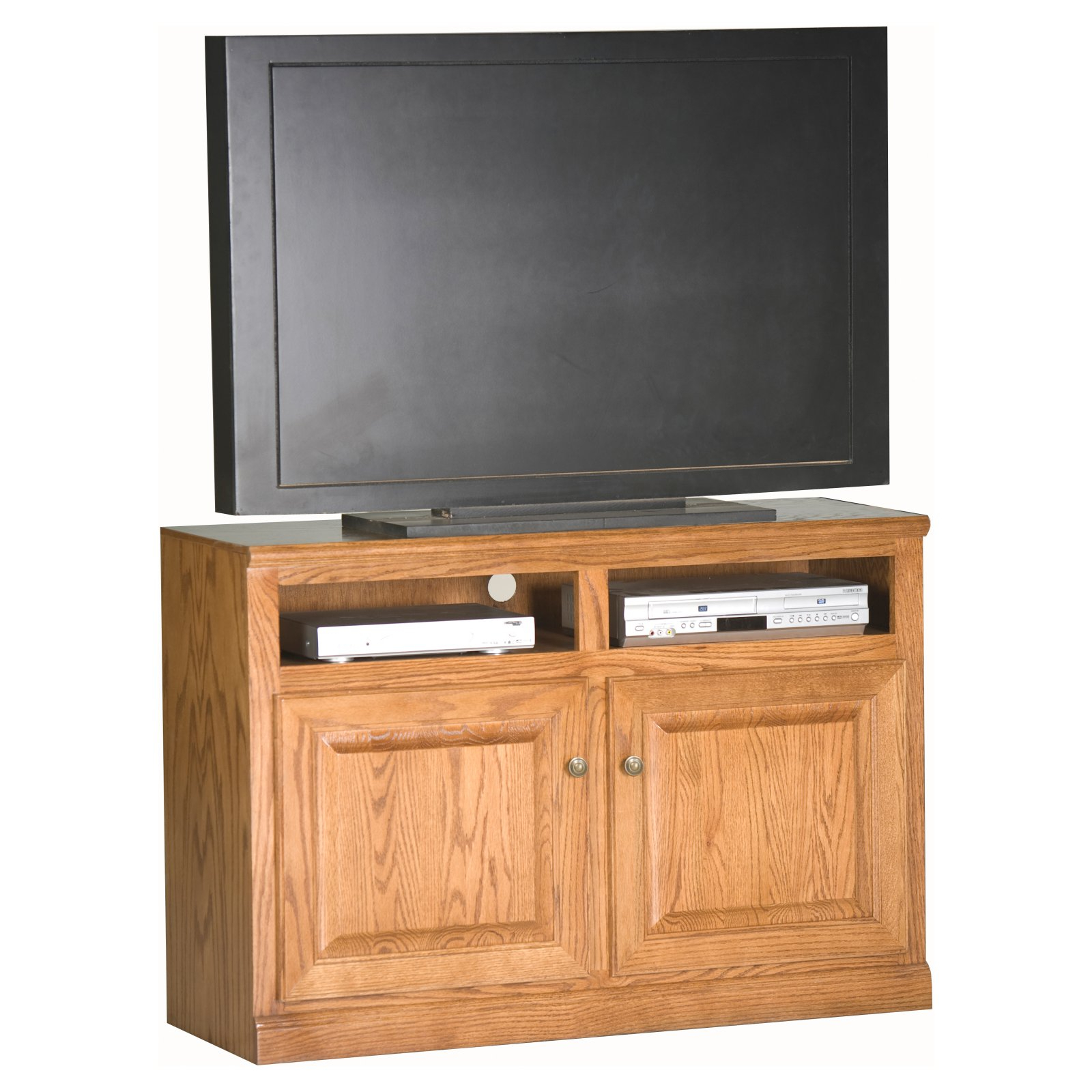 2018 Eagle Furniture Classic Oak Customizable 45 In. Tv Stand – Walmart Intended For Kilian Grey 49 Inch Tv Stands (Gallery 17 of 20)