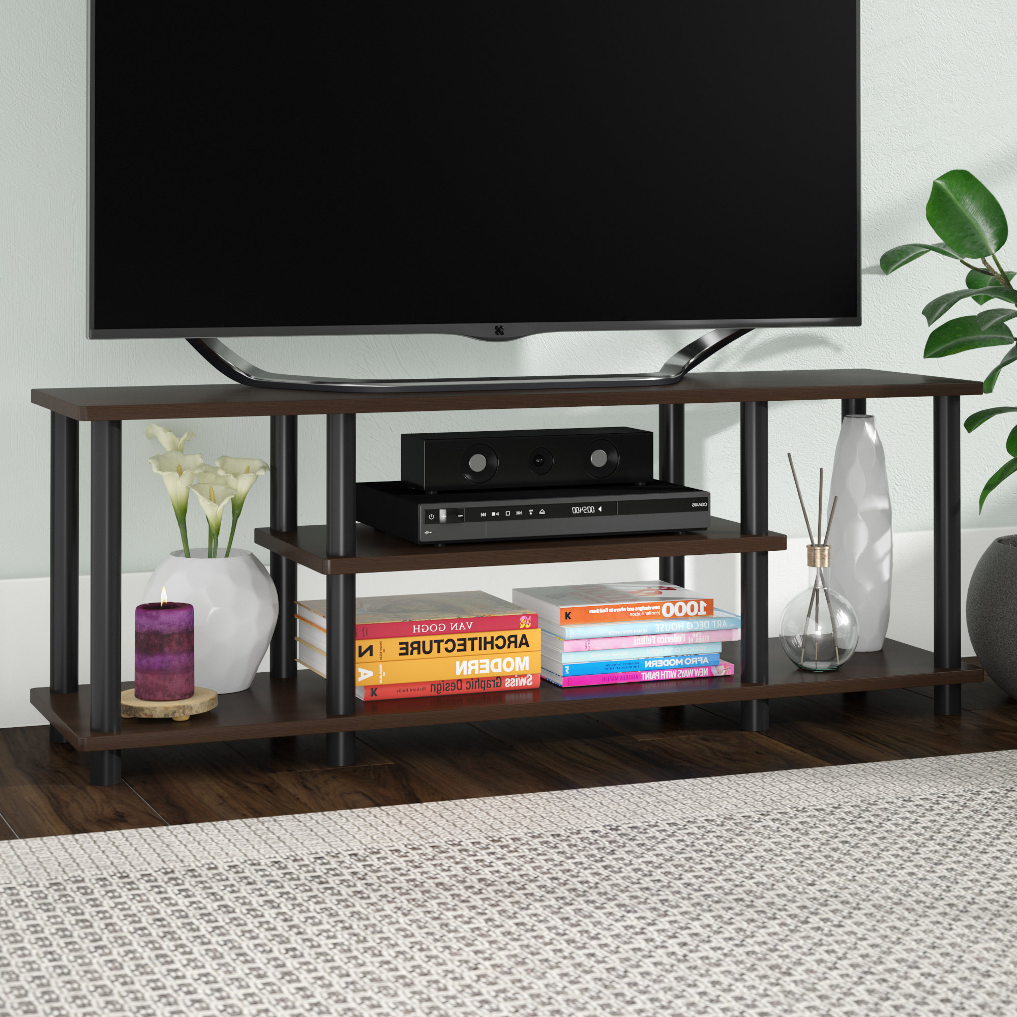 2018 Hairpin Leg Tv Stands Within 40 49 Inches Tv Stand Tv Stands & Entertainment Centers You'll Love (Gallery 16 of 20)