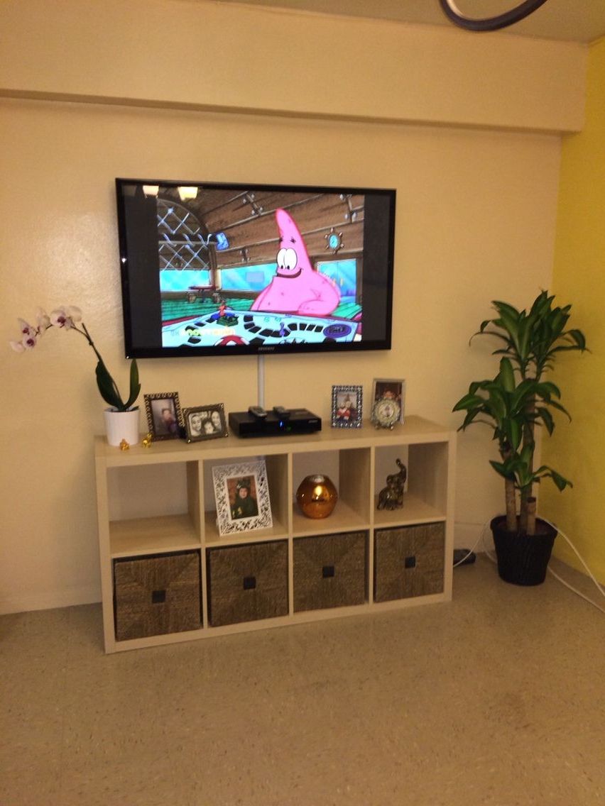 2018 Ikea Kallax, Made As A Tv Stand (Gallery 20 of 20)