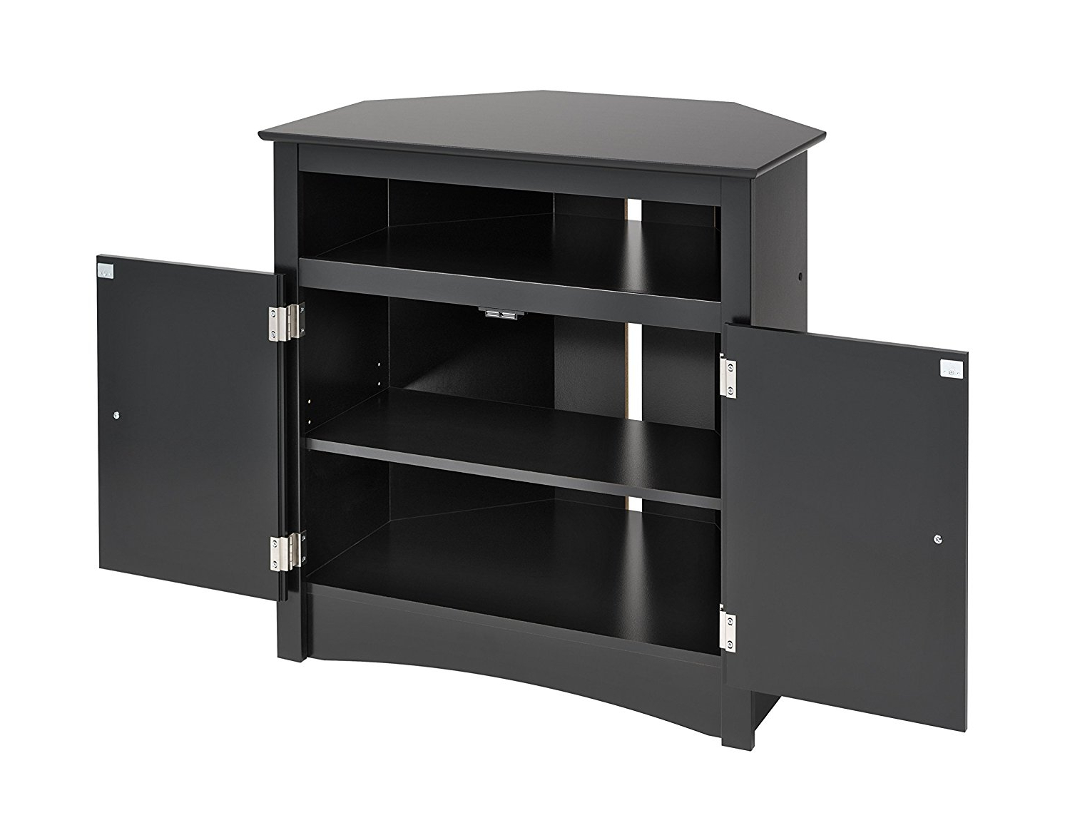 2018 Oak Corner Tv Stand For 50 Inch Walmart Cabinet 60 Hooker Black With Black Corner Tv Cabinets (View 1 of 20)