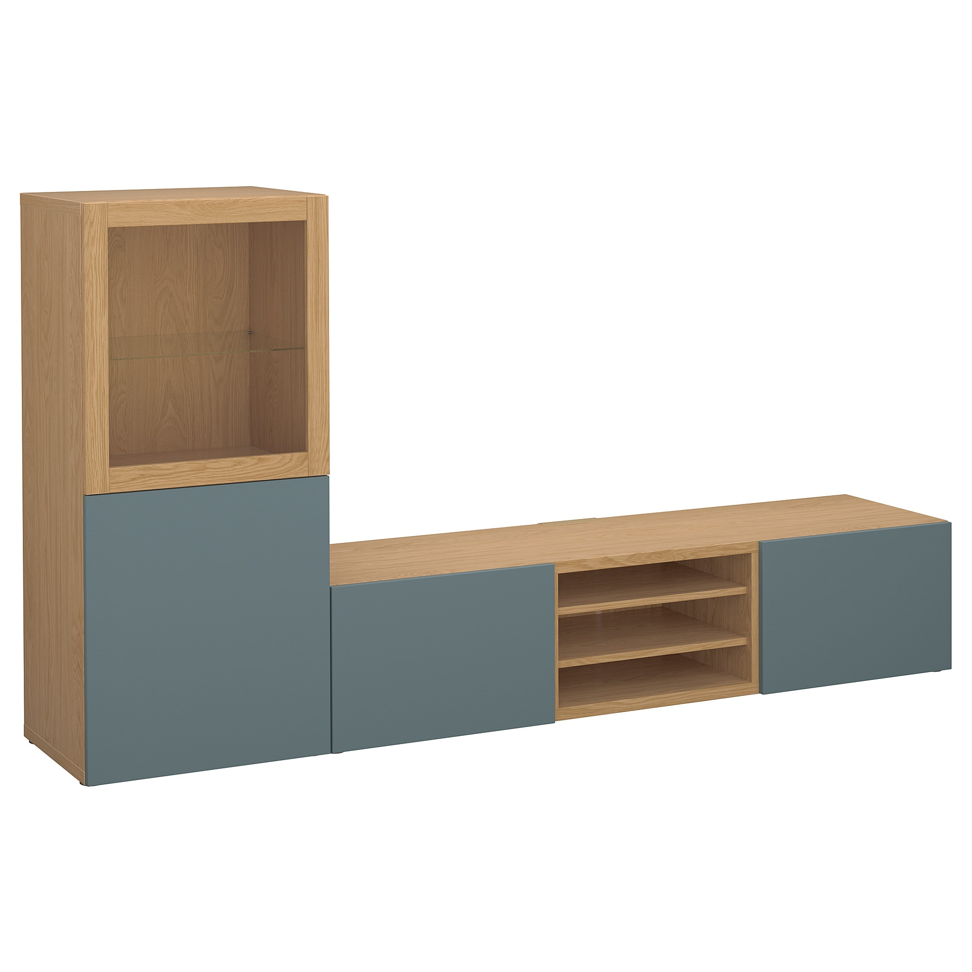 2018 Oak Effect Corner Tv Stand For Tv Stands & Tv Units (Gallery 19 of 20)