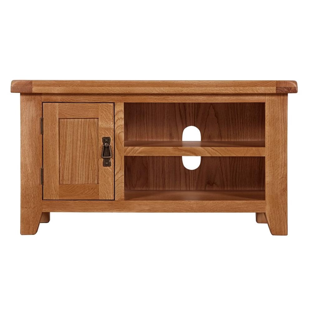 2018 Oak Tv Cabinet (Gallery 20 of 20)