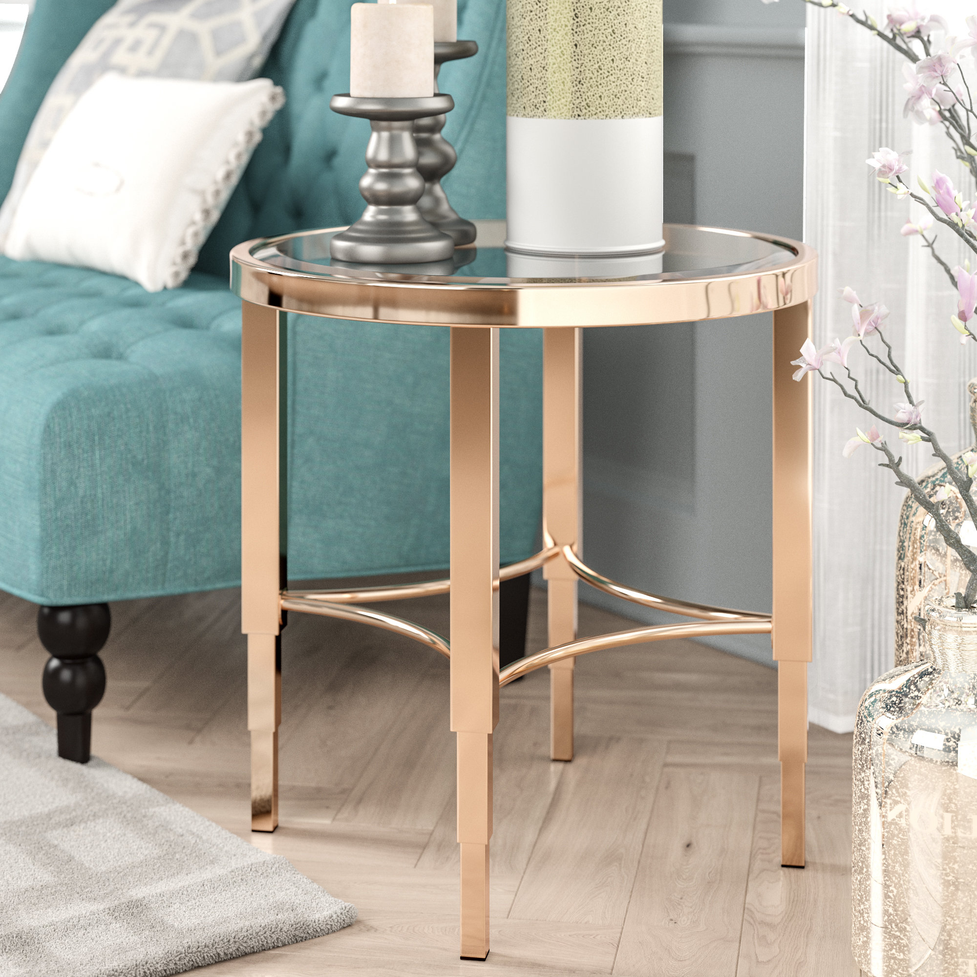 2018 Scattered Geo Console Tables Inside Art Deco Floor Lamp (View 1 of 20)