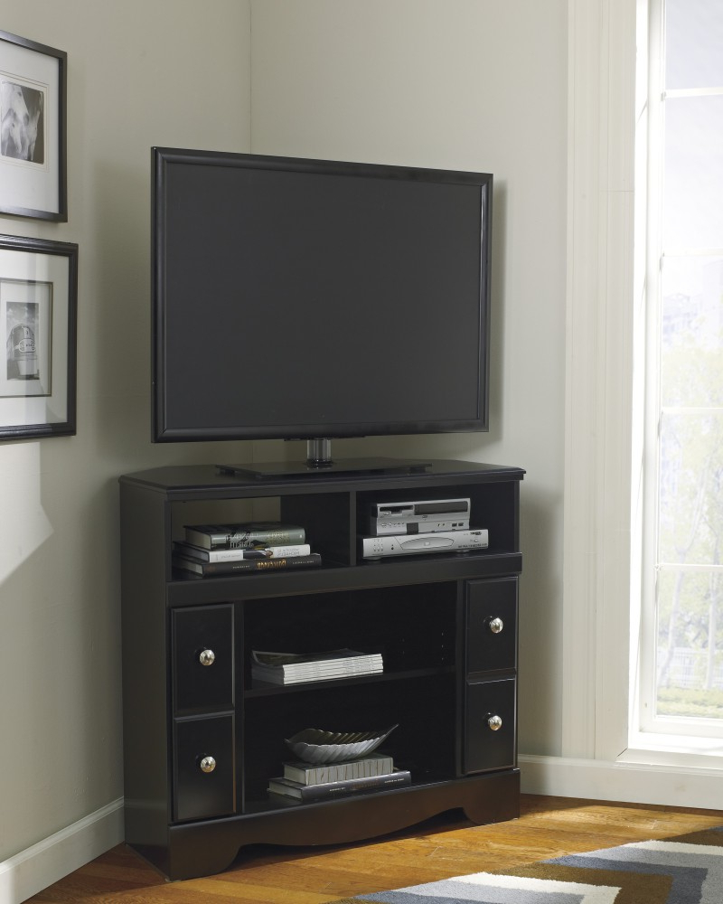 2018 Tv Stands For Corner Intended For Shay – Corner Tv Stand/fireplace Opt (View 14 of 20)