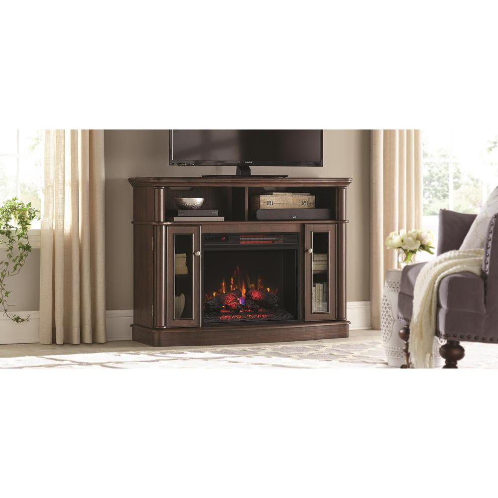 50 Inch Fireplace Tv Stands Pertaining To Fashionable Fireplace Tv Stands – Electric Fireplaces – The Home Depot (View 4 of 20)