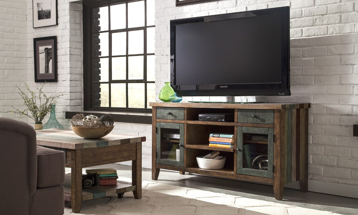 6 Tips For Buying A Great Tv Stand For Your Home – Overstock With Famous 24 Inch Tall Tv Stands (Gallery 19 of 20)