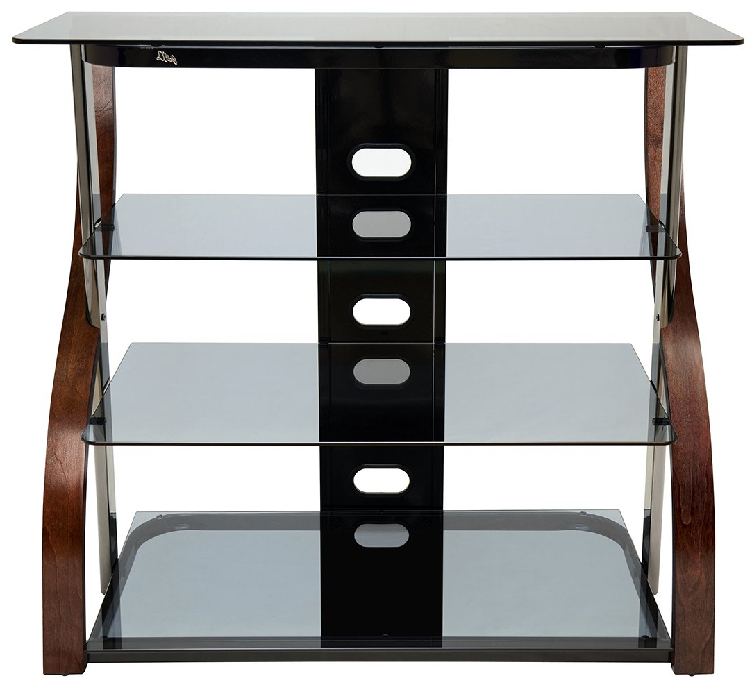 "61 Inch Tv Stands Intended For Popular Amazon: Bell'o Cw340 40"" Tall Tv Stand For Tvs Up To 42 (Gallery 15 of 20)"