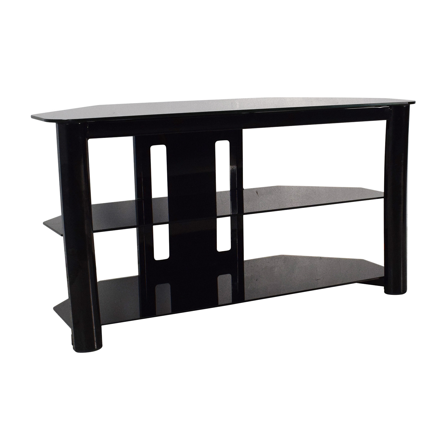 [%61% Off – Best Buy Best Buy Black Glass Tv Stand / Storage Regarding Well Known Swivel Black Glass Tv Stands|Swivel Black Glass Tv Stands Pertaining To Newest 61% Off – Best Buy Best Buy Black Glass Tv Stand / Storage|Recent Swivel Black Glass Tv Stands Pertaining To 61% Off – Best Buy Best Buy Black Glass Tv Stand / Storage|Well Known 61% Off – Best Buy Best Buy Black Glass Tv Stand / Storage For Swivel Black Glass Tv Stands%] (View 1 of 20)