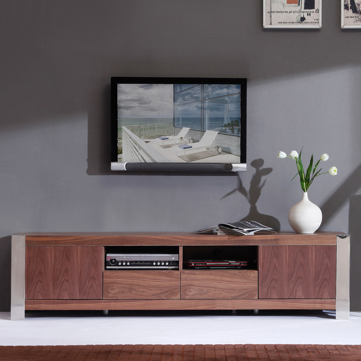 90 Inch Long Tv Stand 60 Entertainment Center With Hutch 80 Ikea 100 Regarding Famous 80 Inch Tv Stands (View 8 of 20)