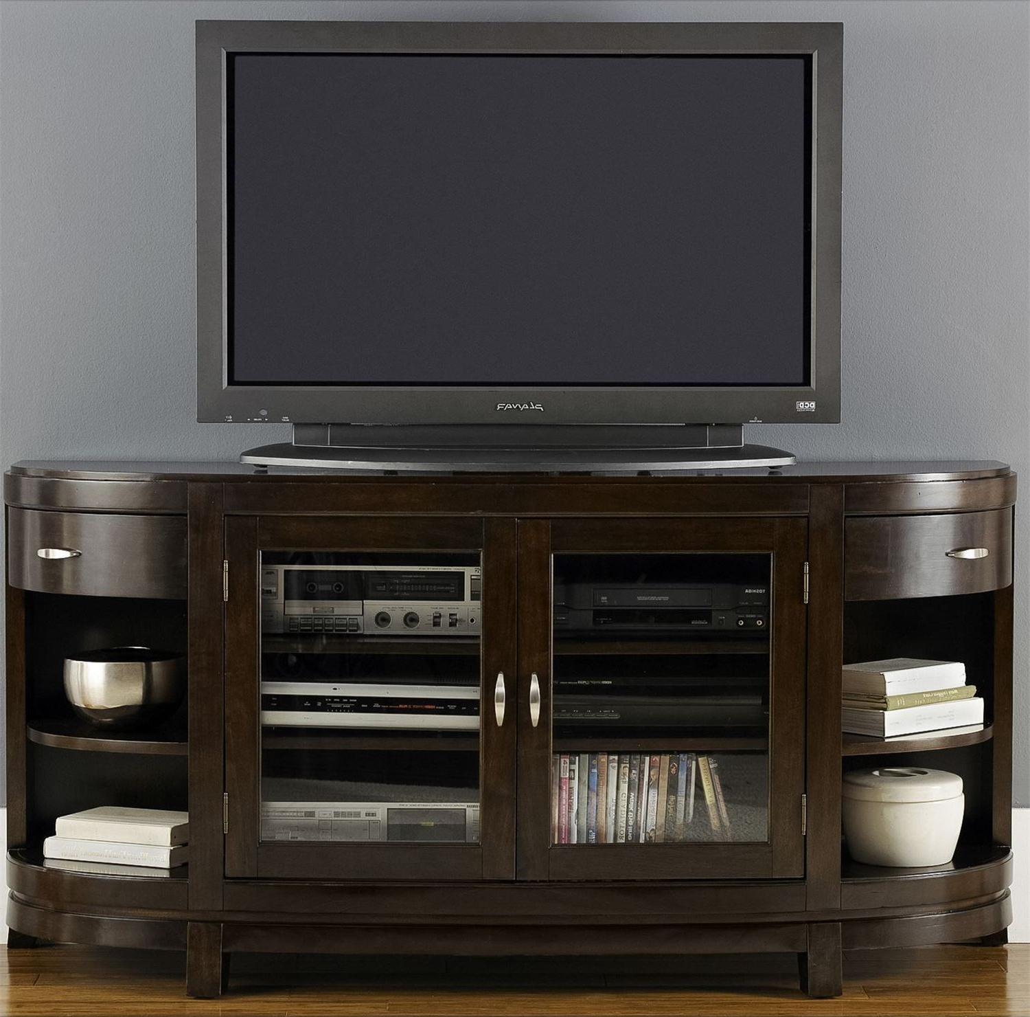 Abbott Driftwood 60 Inch Tv Stands For Famous Avalon Entertainment Tv Stand From Liberty (505 Tv67) (View 3 of 20)