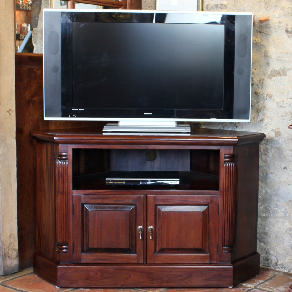 Akd For Mahogany Corner Tv Cabinets (View 3 of 20)