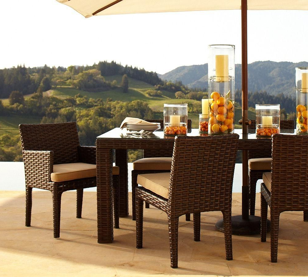 Alcanes Outdoor Rattan Furniture (View 2 of 20)