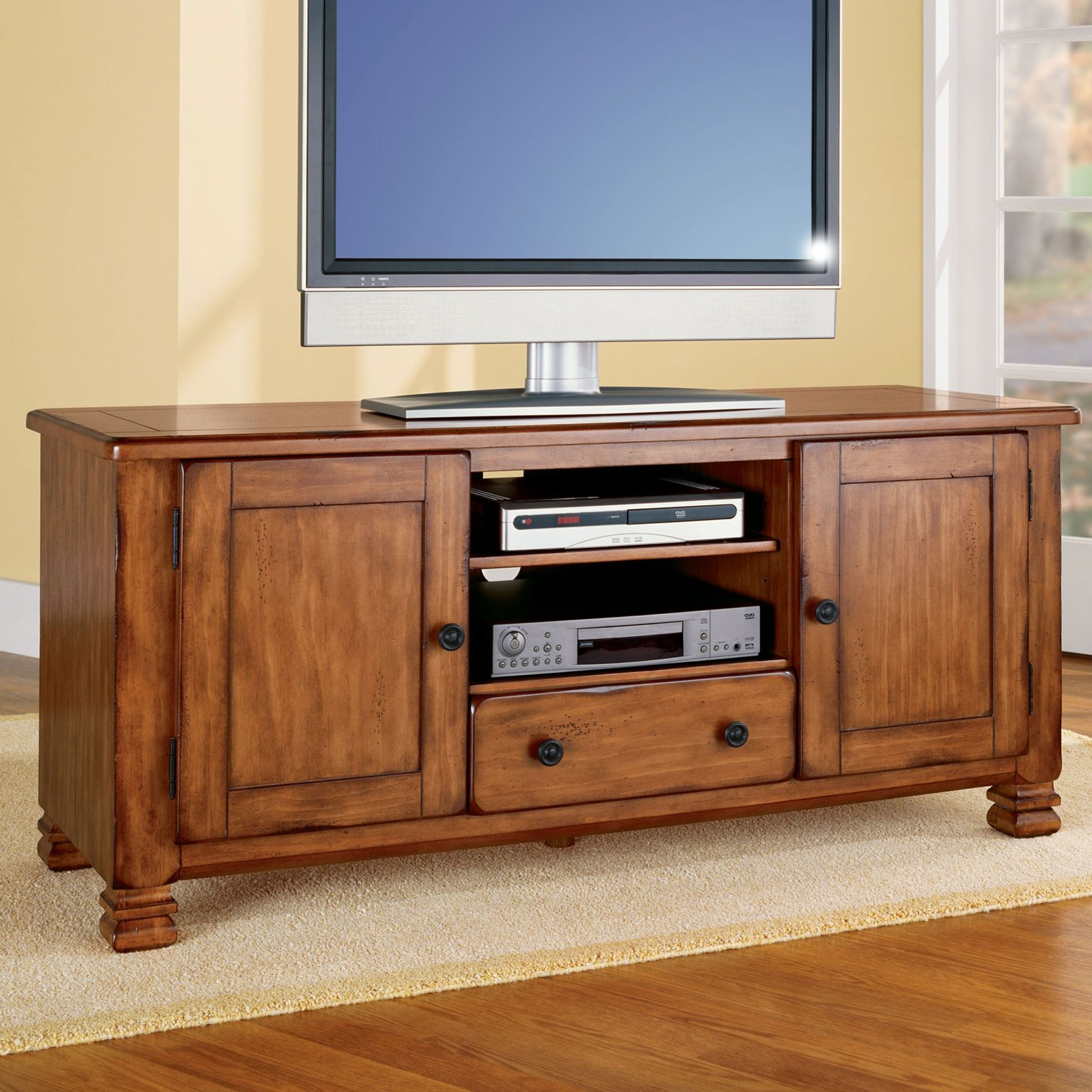 """Alcott Hill Brackenridge Tv Stand For Tvs Up To 55"""" & Reviews (Gallery 11 of 20)"""