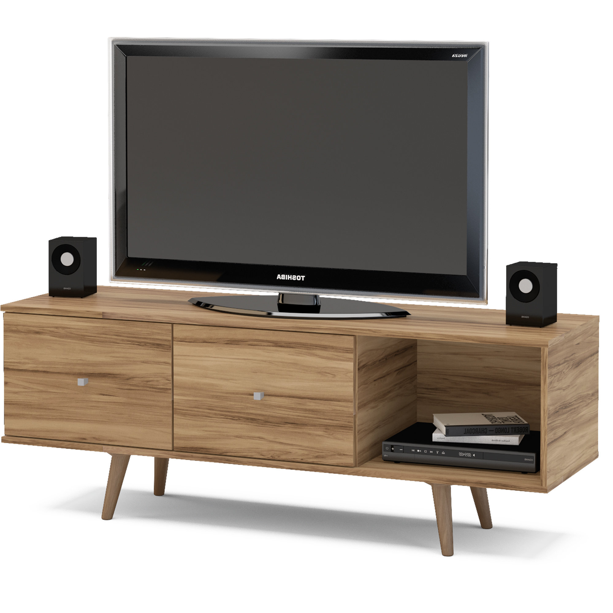 All Modern Tv Stands With Preferred Modern Tv Stands & Entertainment Centers (View 7 of 20)