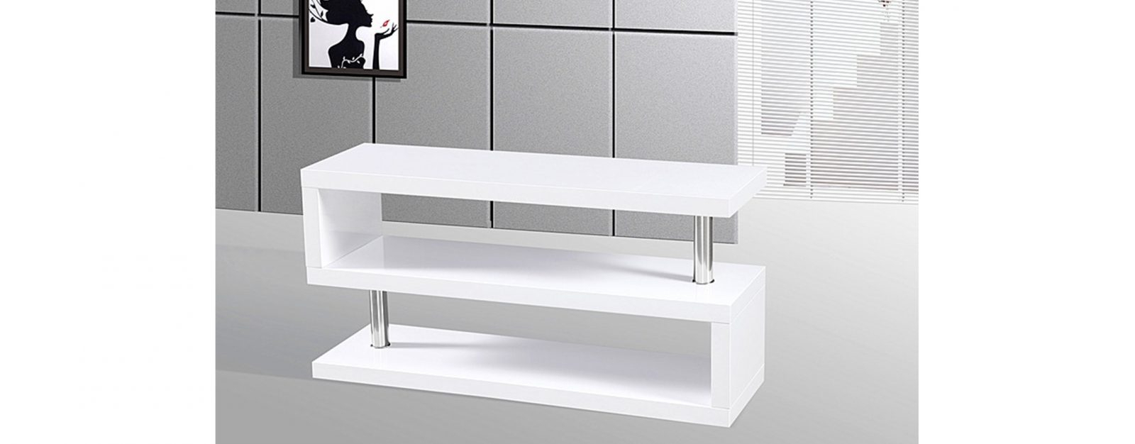 Allans Furniture Warehouse Intended For White High Gloss Tv Stands (View 5 of 20)