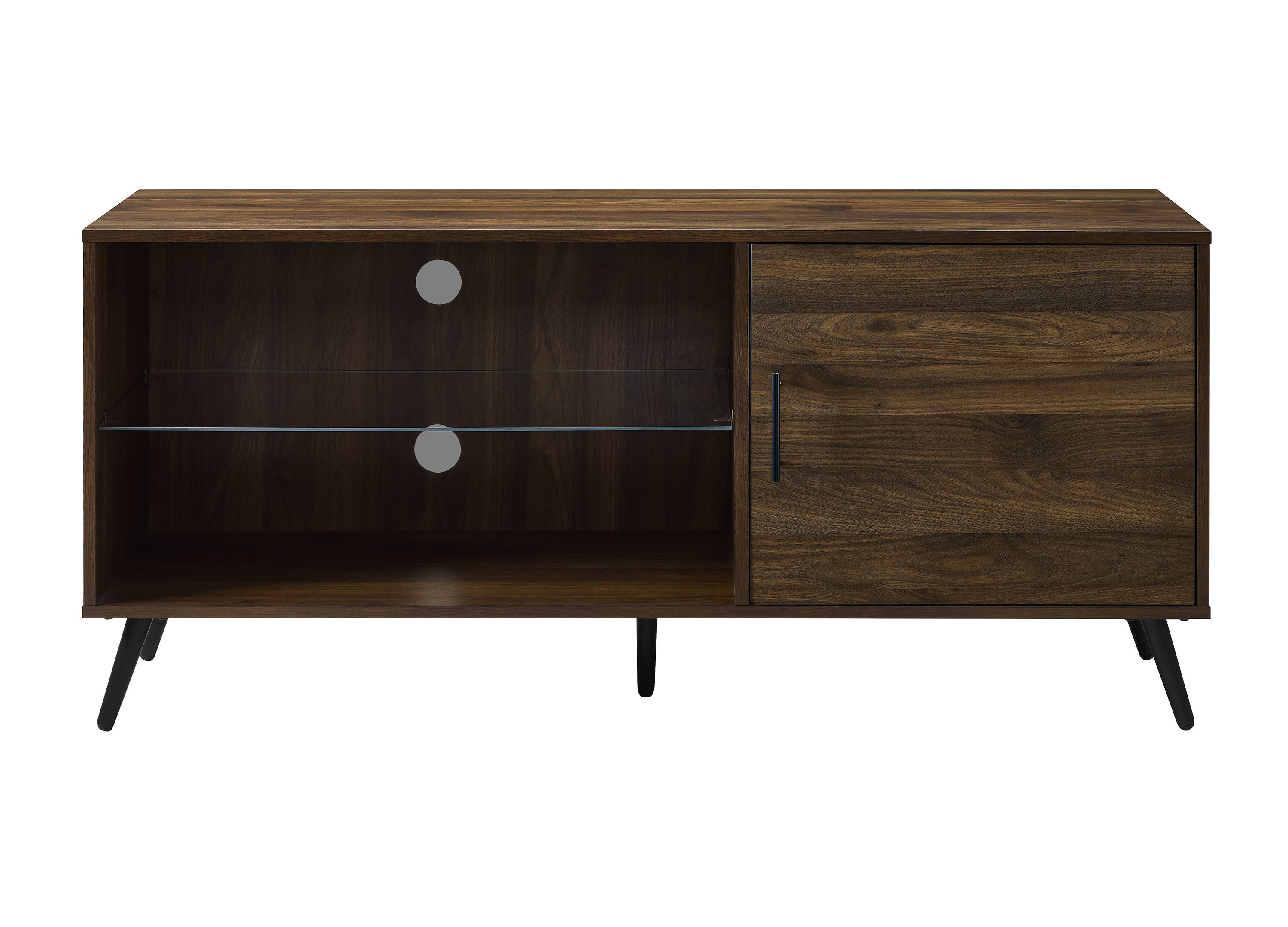 Allmodern In Popular Retro Corner Tv Stands (View 1 of 20)