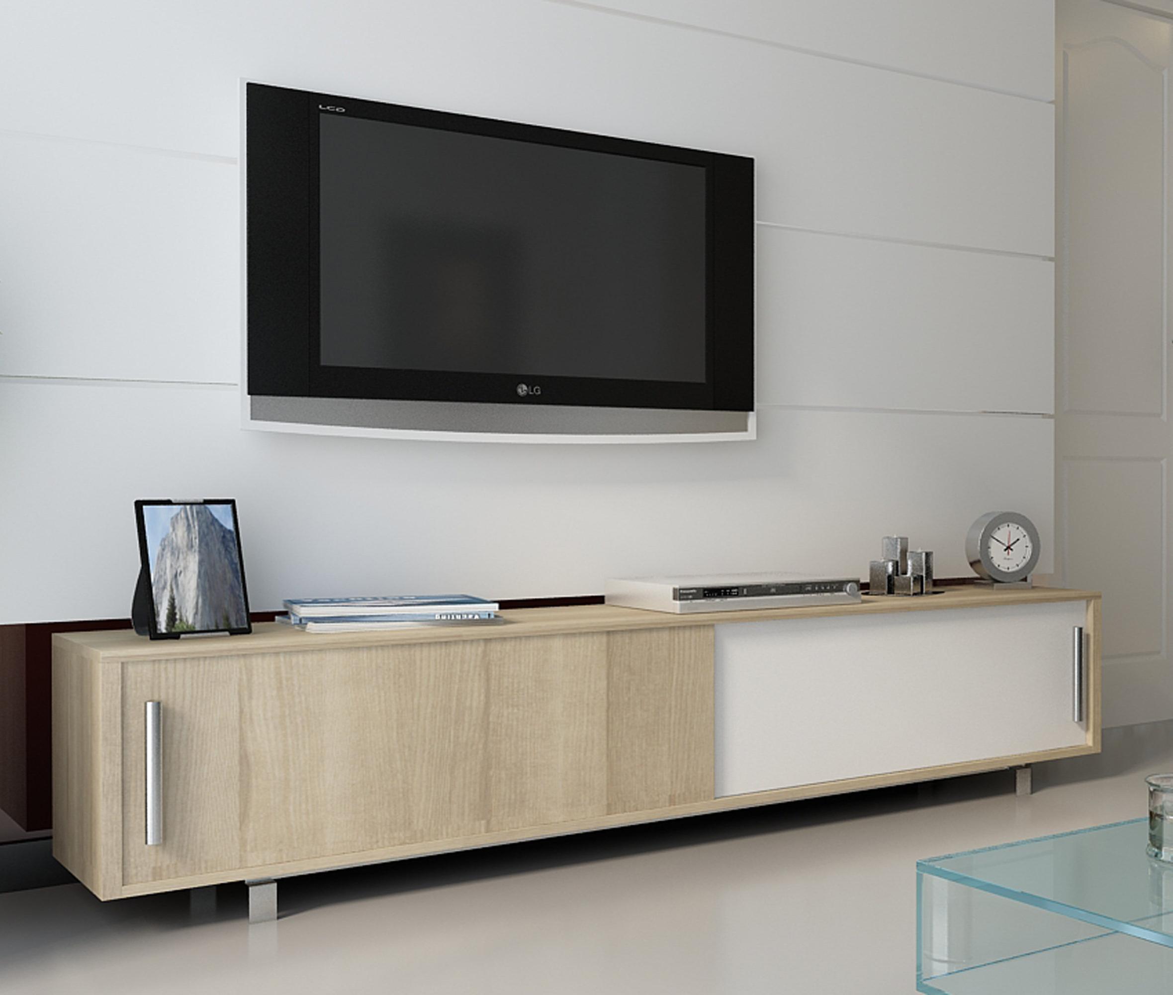 Allmodern Regarding Annabelle Cream 70 Inch Tv Stands (View 2 of 20)