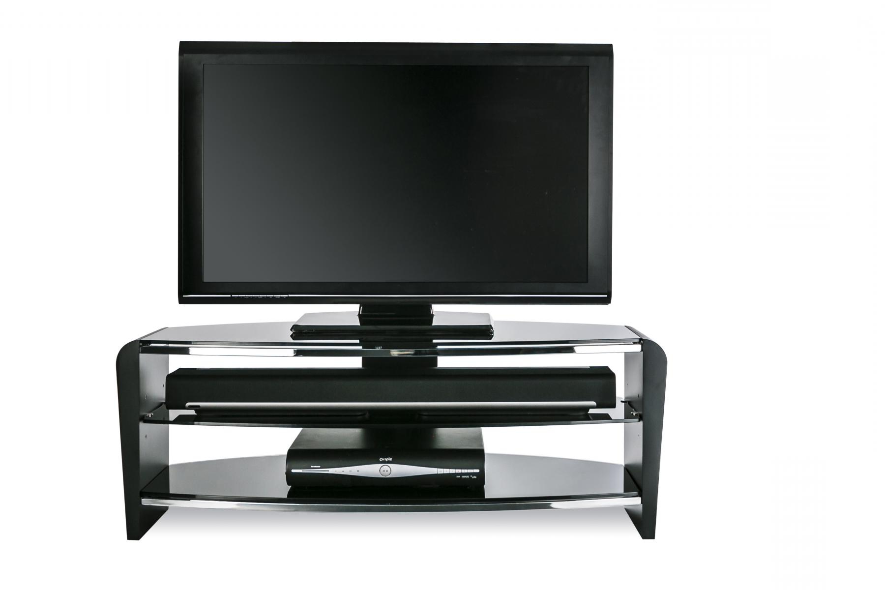 Alphason Francium Frn1100/black Tv Stand (Gallery 16 of 20)