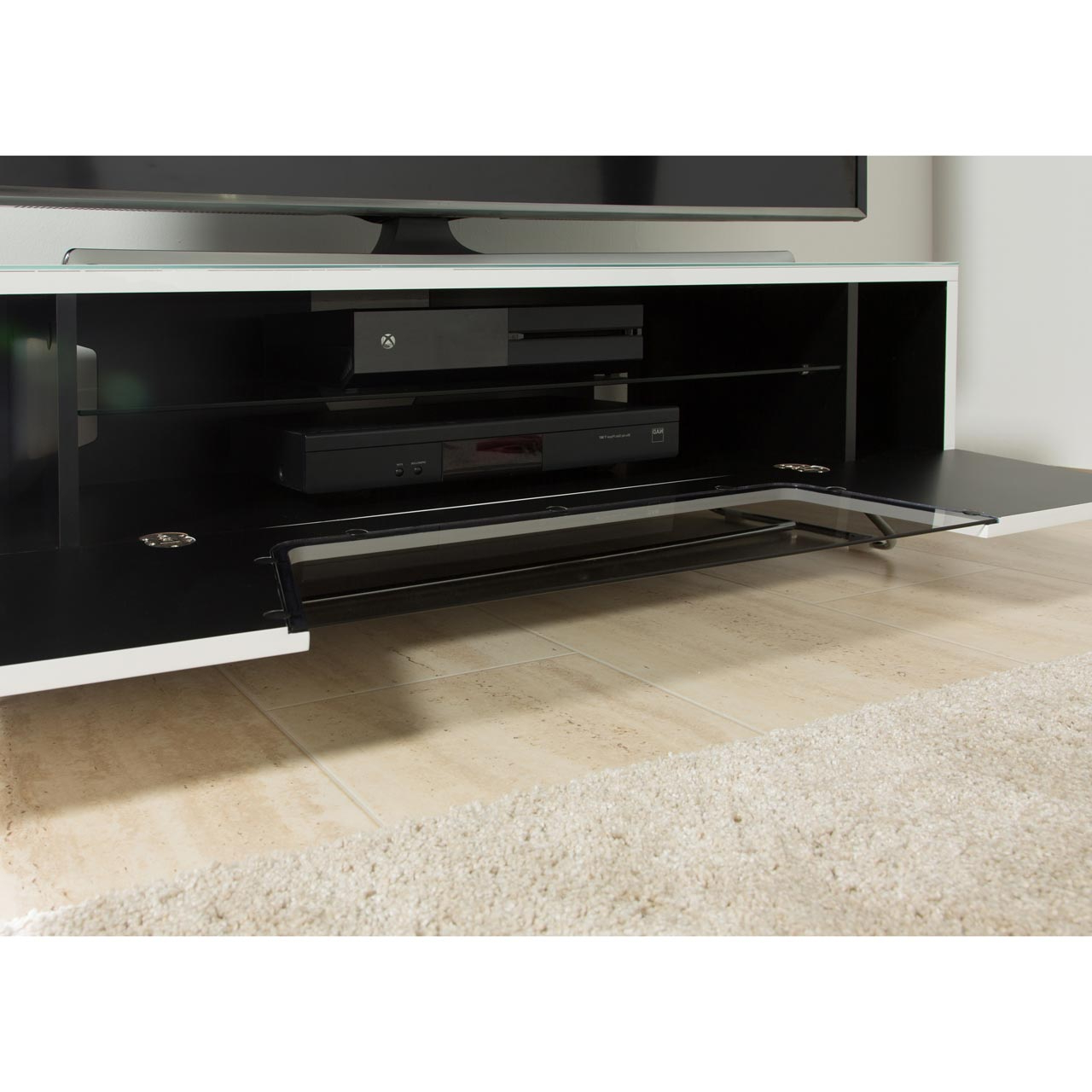 Alphason Tv Cabinets Within Well Known Cro2 1200Cb Gry (View 11 of 20)