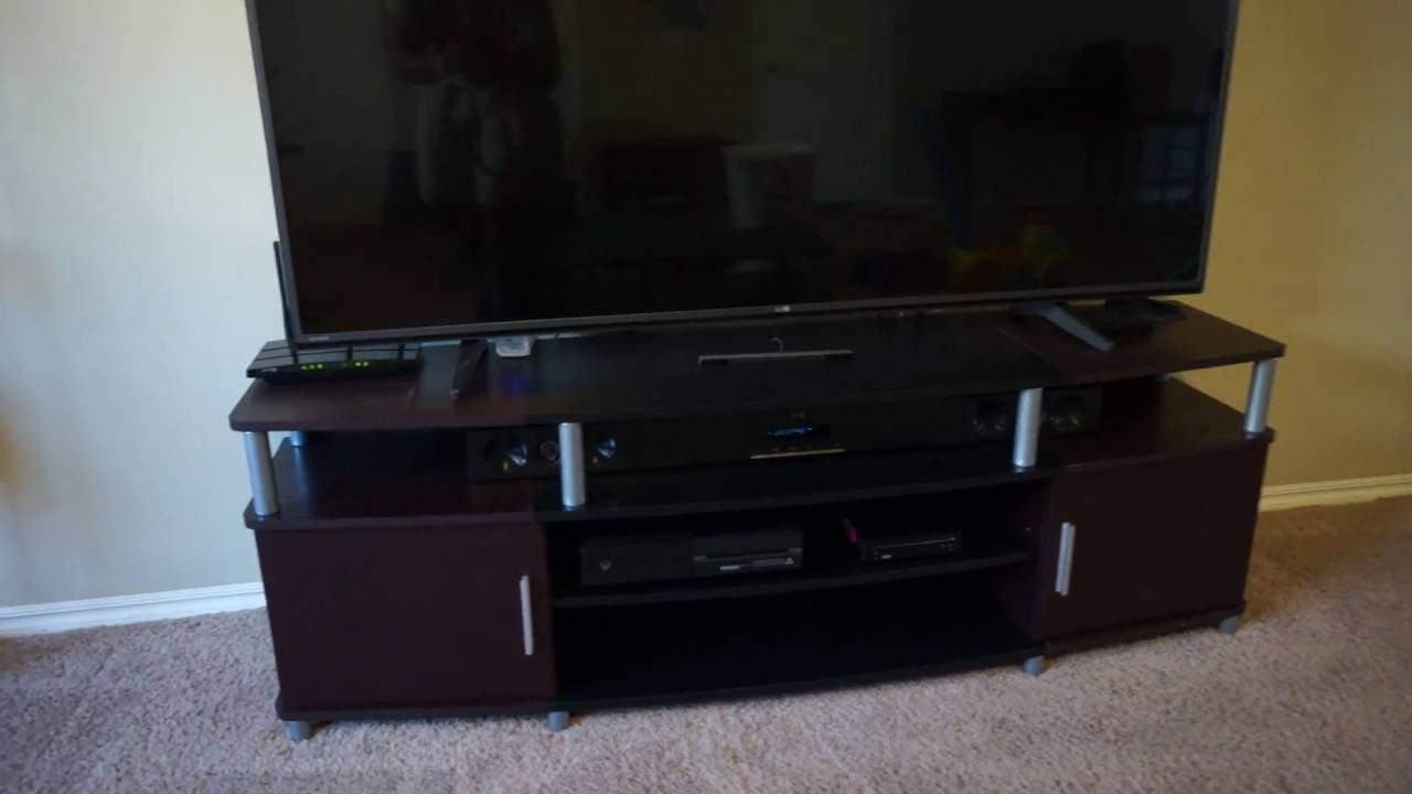 Altra Carson 70 Tv Stand Review – Ameriwood Home Carson Tv Stand For Intended For Most Up To Date Tv Stands For Tube Tvs (View 2 of 20)