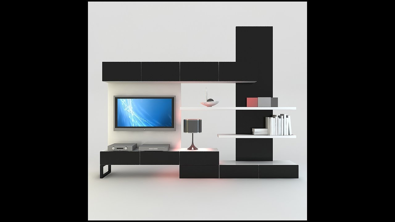 Amazing Your Beautiful Tv Wall Cabinet Design Ideas – Youtube With Trendy Tv Wall Cabinets (Gallery 13 of 20)
