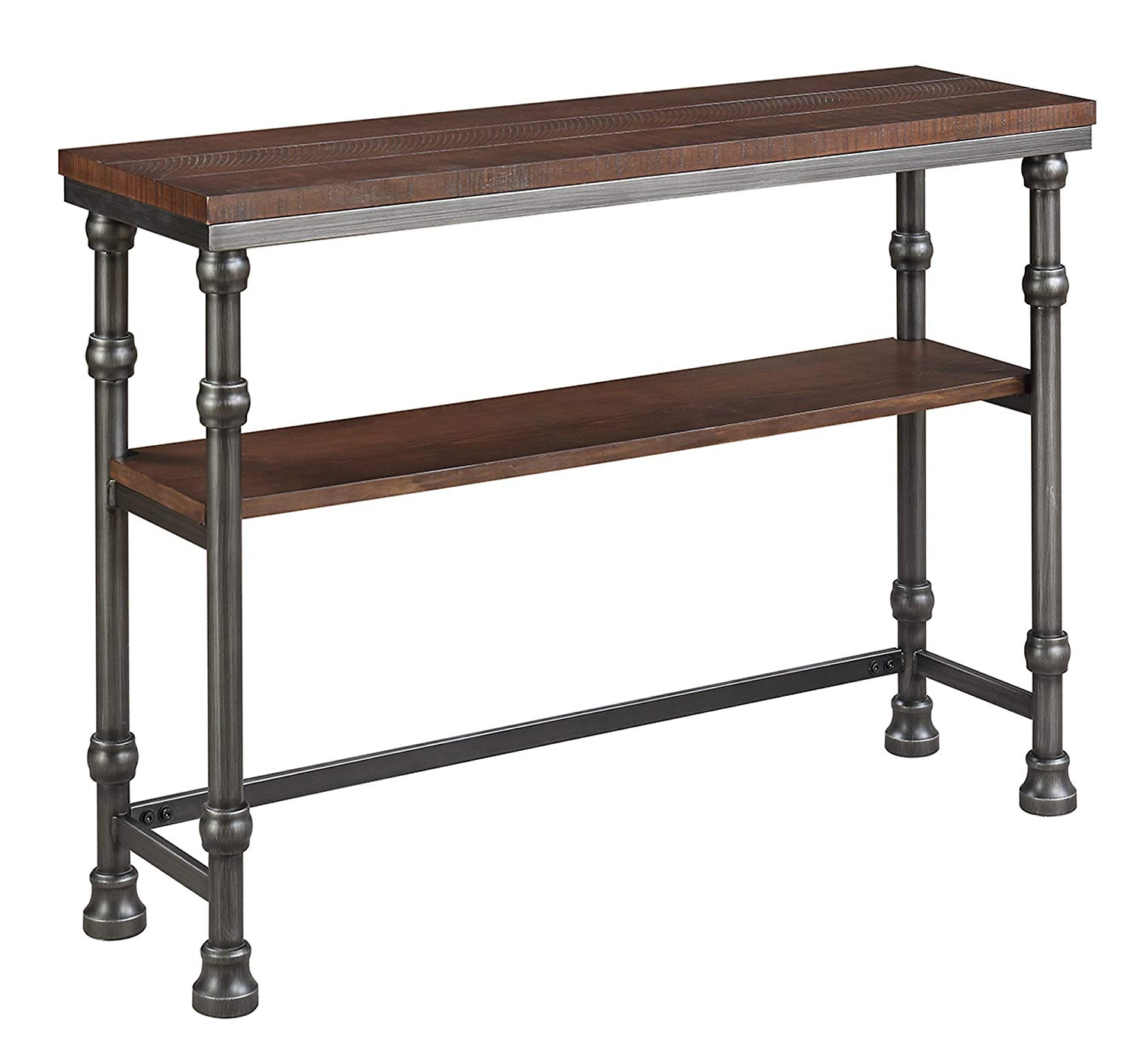 Amazon: Convenience Concepts 171199 Console Table: Kitchen & Dining Intended For 2018 Yukon Grey Console Tables (View 9 of 20)