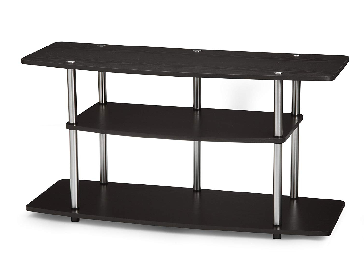 Amazon: Convenience Concepts Designs2Go 3 Tier Wide Tv Stand Regarding Famous Cheap Tv Table Stands (View 9 of 20)