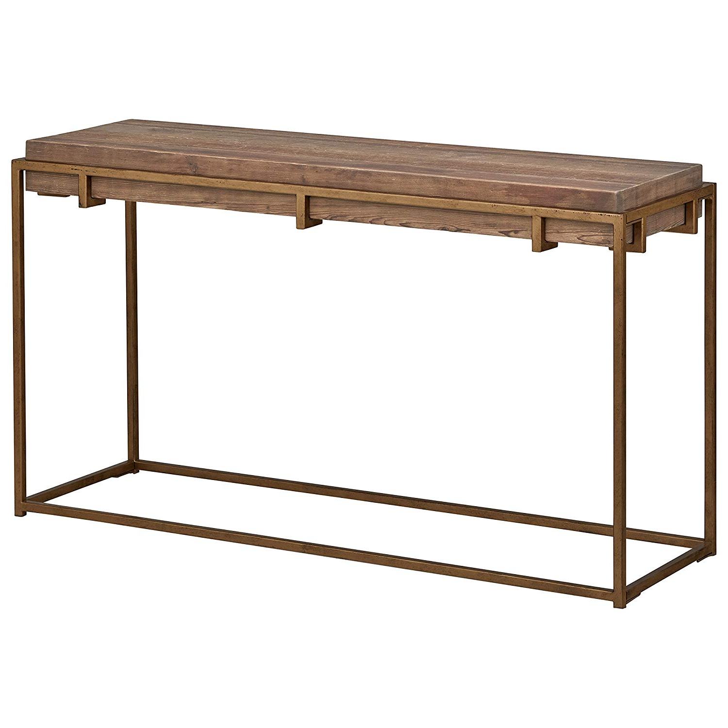 Amazon: Stone & Beam Sparrow Industrial Console Table,  (View 3 of 20)