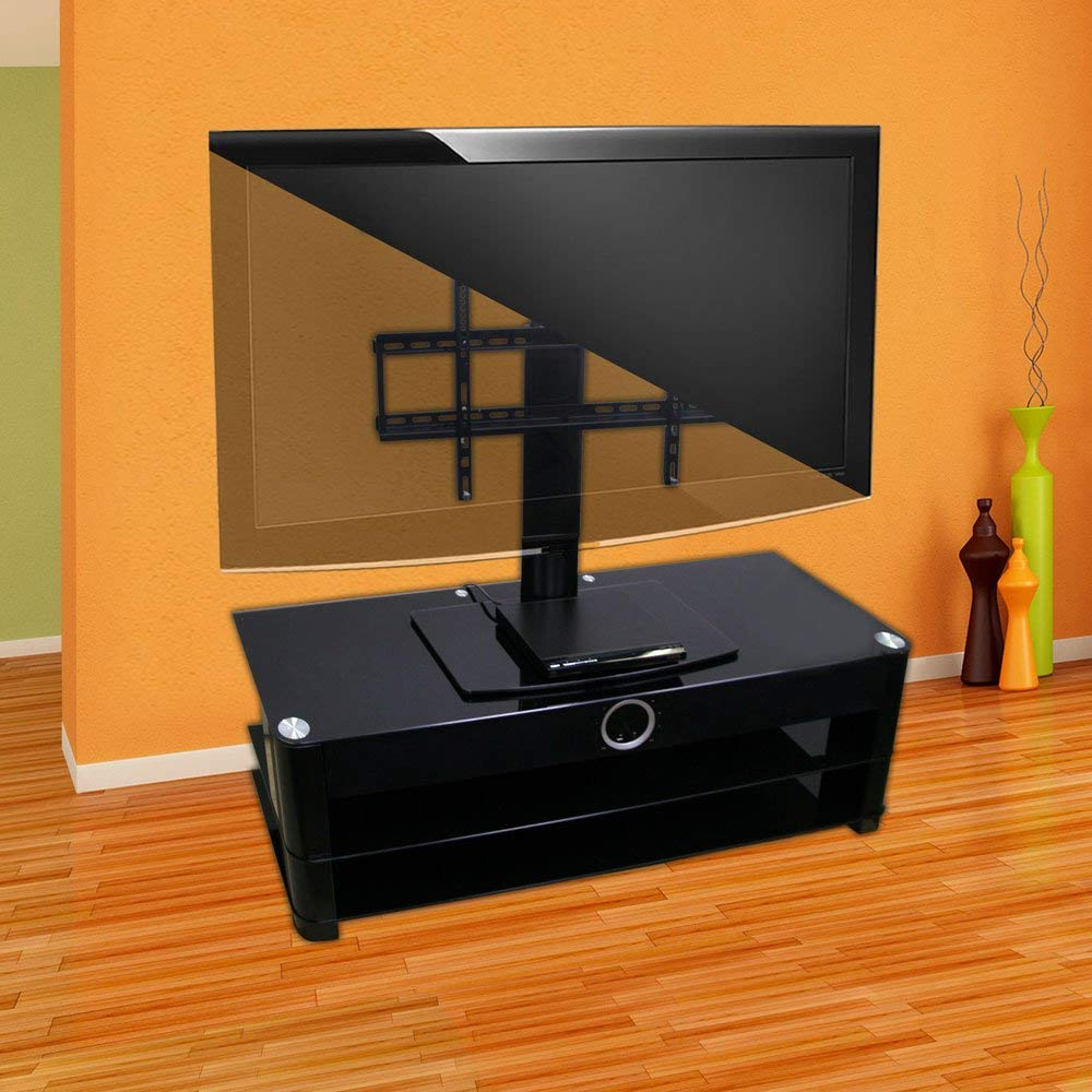 Amazon: Universal Tv Stand For Tv With Swivel And Height Pertaining To Well Known 24 Inch Corner Tv Stands (View 9 of 20)