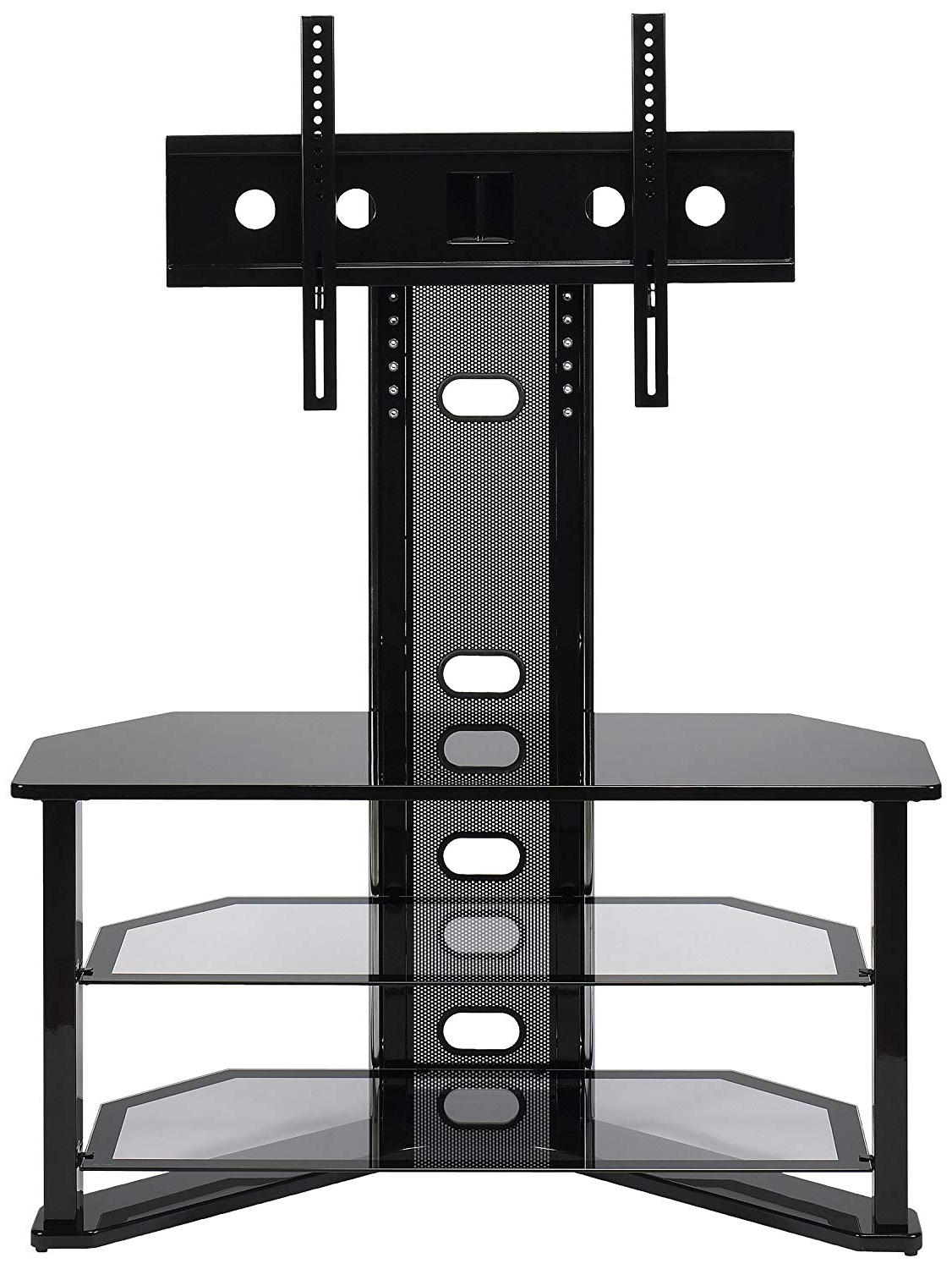 Amazon: Z Line Designs Madrid Flat Panel Tv Stand With Intended For 2018 65 Inch Tv Stands With Integrated Mount (Gallery 5 of 20)