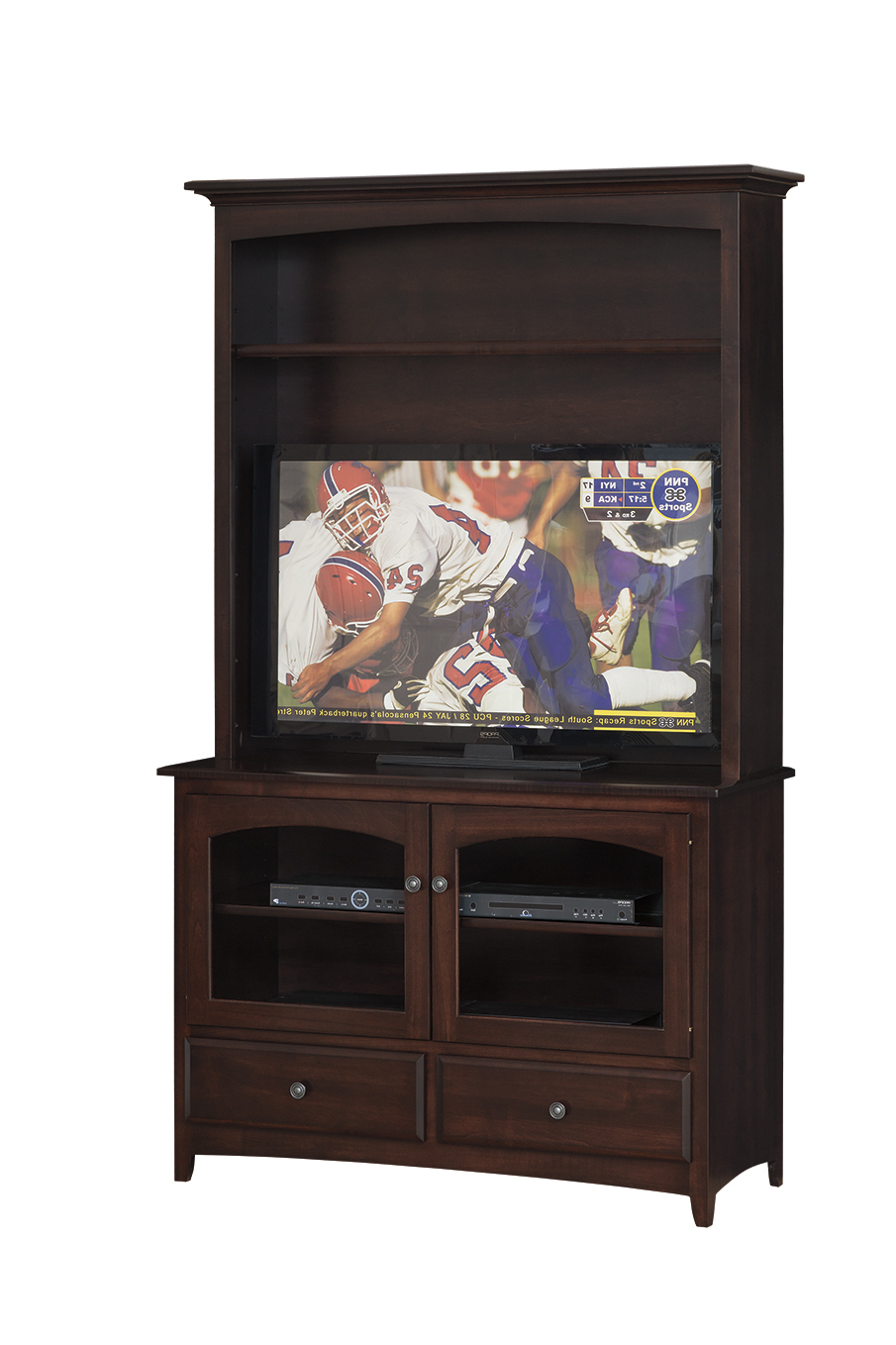 Amish Custom Furniture Throughout Corner Tv Stands For 46 Inch Flat Screen (Gallery 16 of 20)
