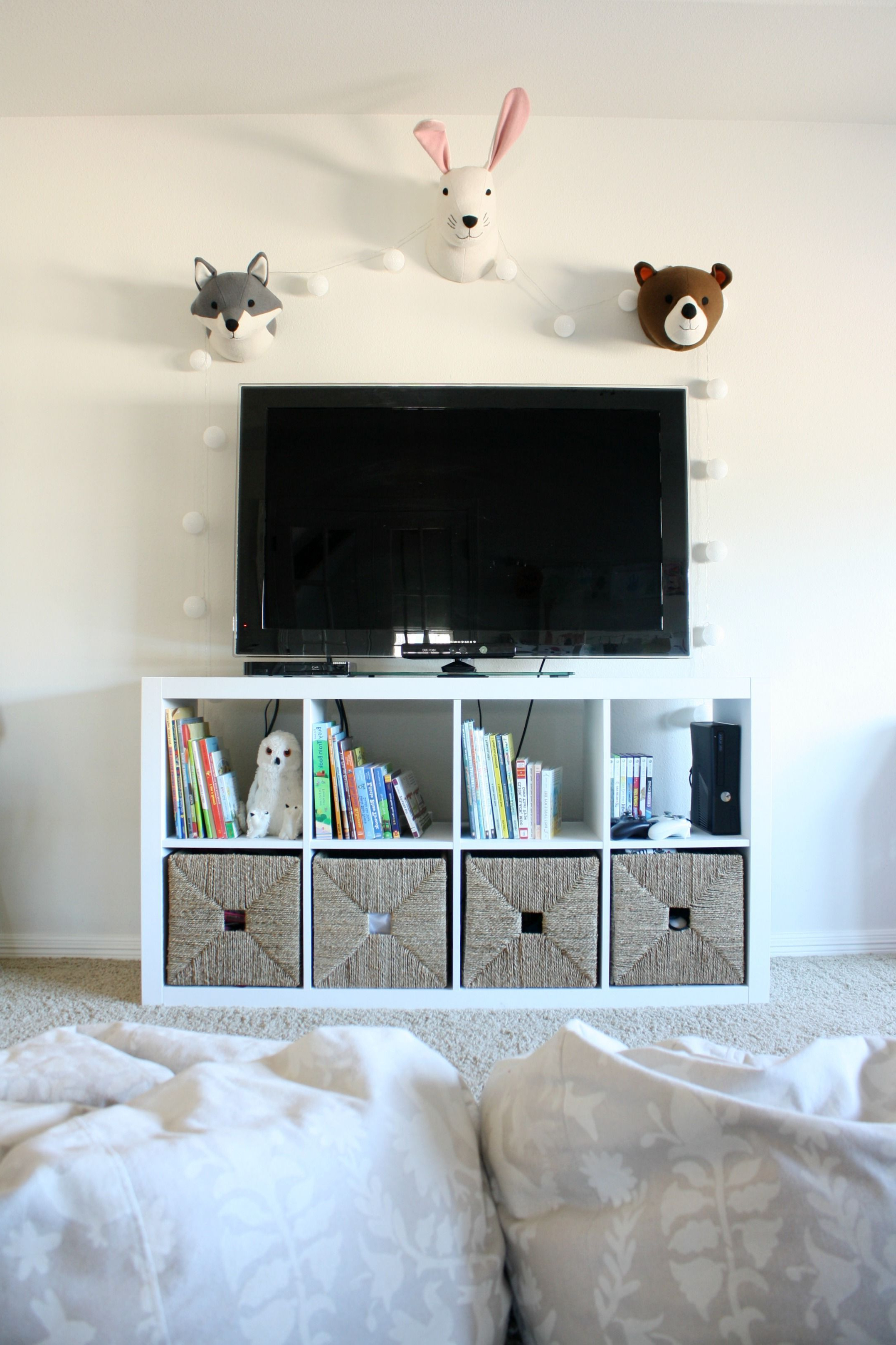 Animal Head Decor, Ikea Tv Stand (Gallery 3 of 20)